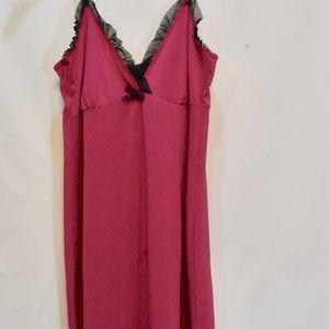Marilyn Monroe Intimates Fuchsia Slip Nightgown XL